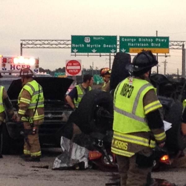 Myrtle Beach woman killed in multi-car crash (Image 1)_54912