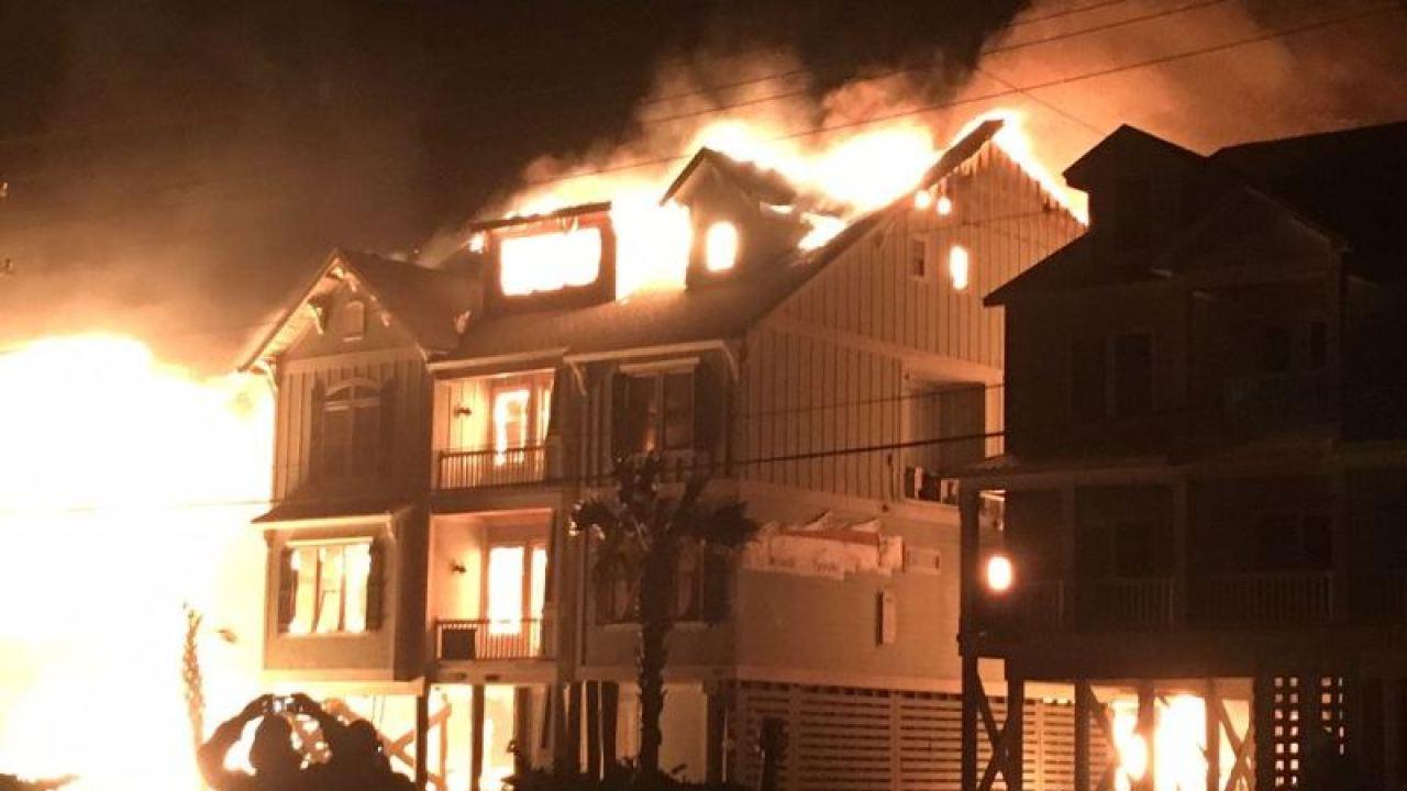Massive North Myrtle Beach Condo Fire Causes Almost 7
