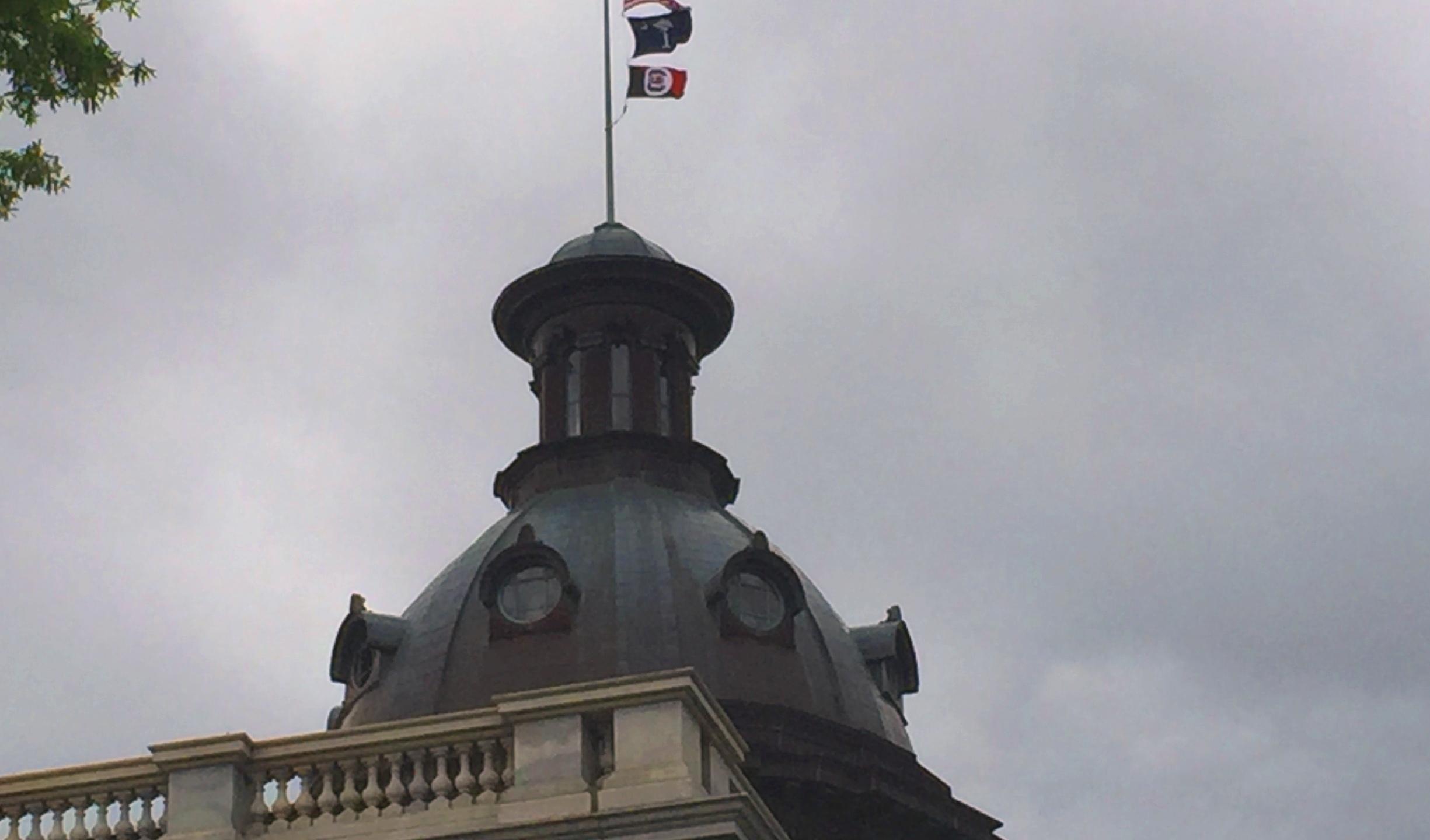 USC Flag on Statehouse edited_381887