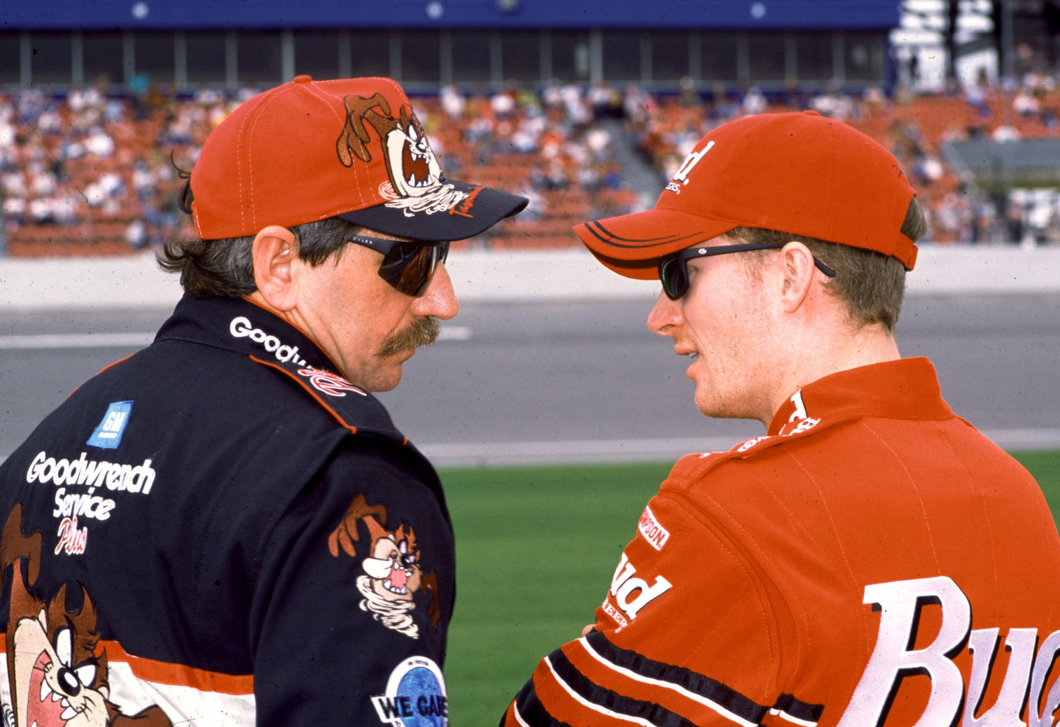 Dale Earnhardt and Dale Earnhardt, Jr._460916