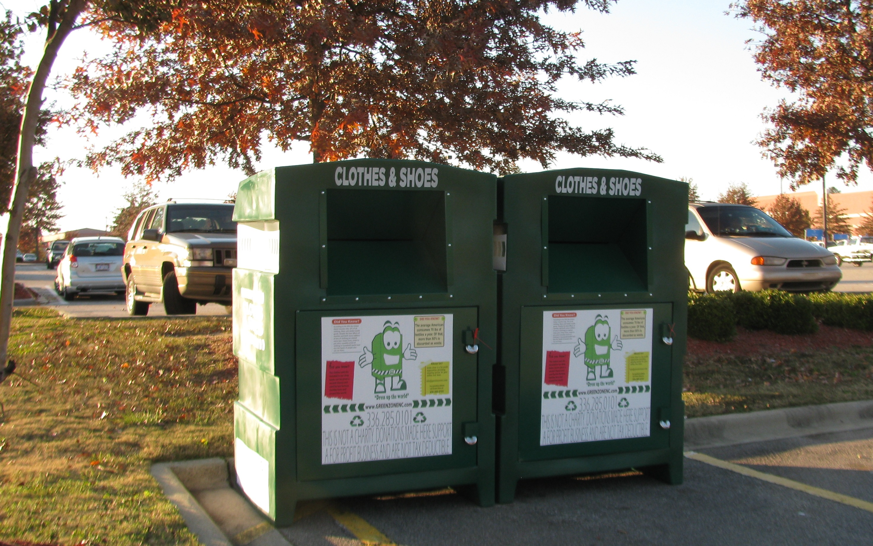 Clothing donation bins offer second life to nearly all textiles