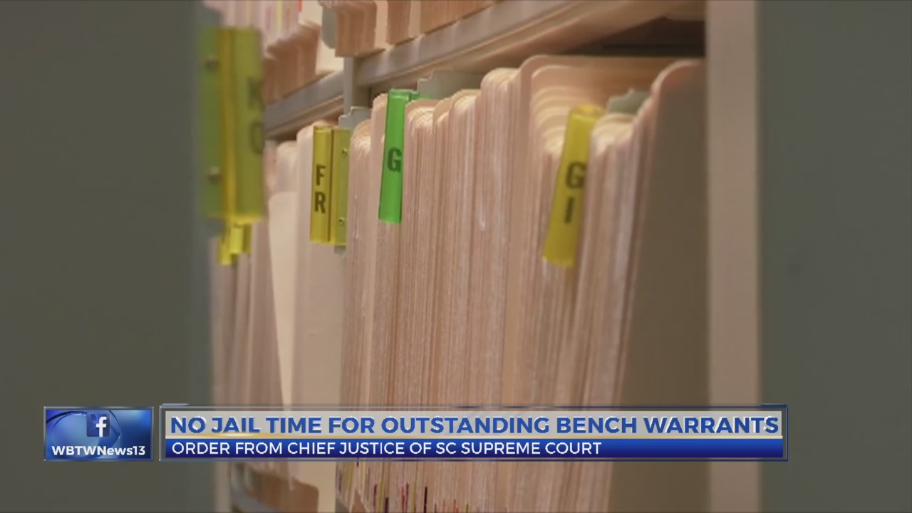 Thousands Of Horry County Arrest Warrants Being Reviewed