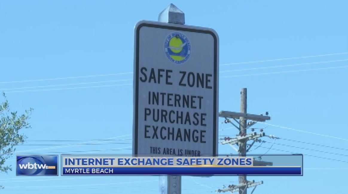 Myrtle Beach Police create 'safe zone' for internet purchases