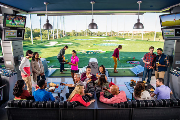 Guests playing Topgolf in Naperville IL_1522680996543