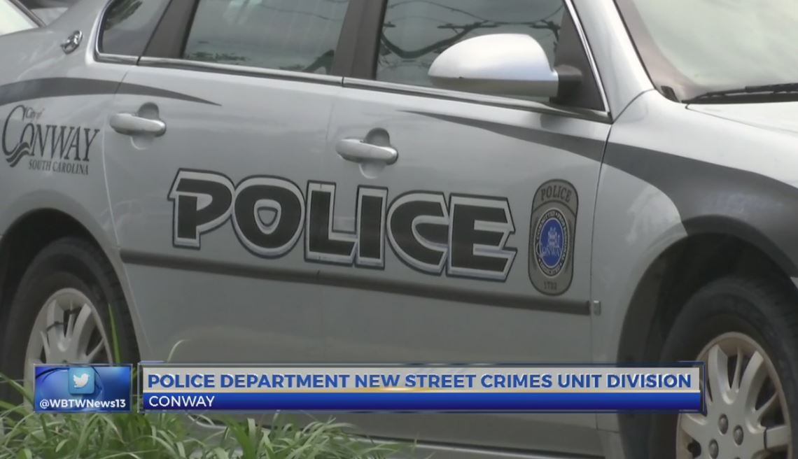Conway Police begin Street Crimes Unit to address community