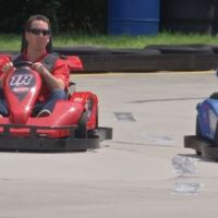 Kyle Busch Enjoys Day on the Grand Strand