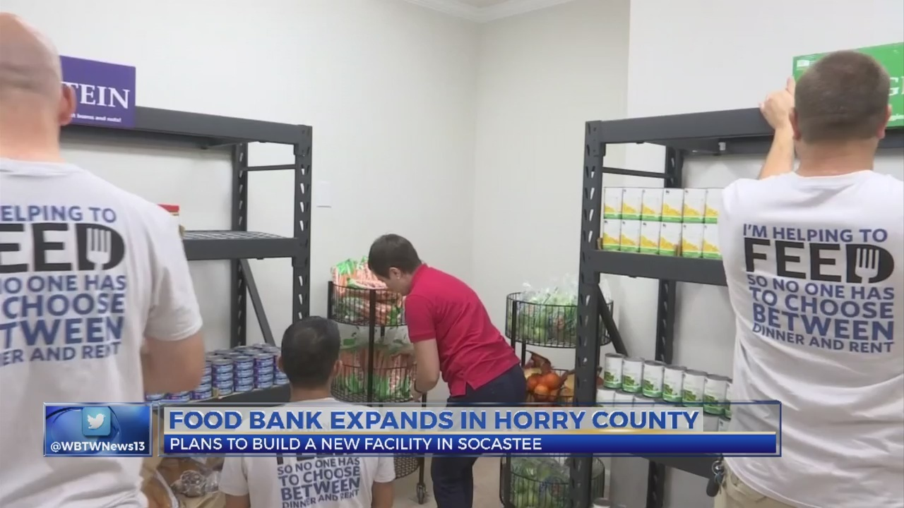 Lowcountry Food Bank to expand in the Myrtle Beach area