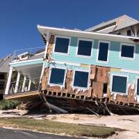 Photos of Hurricane Michael aftermath in Mexico Beach on Thursday