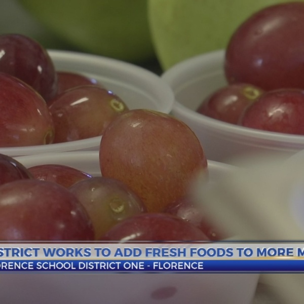 Florence One working to revamp menus to serve healthier meals