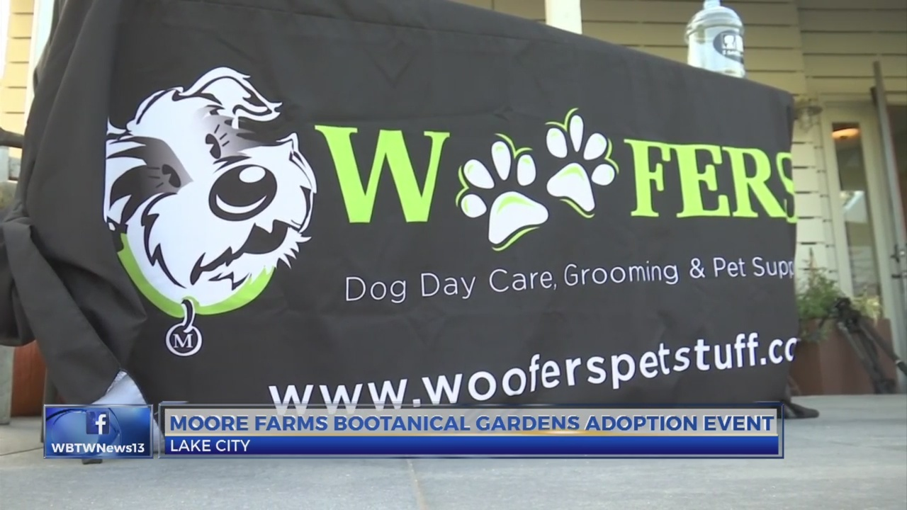 Moore Farms Botanical Garden partnered with local humane society