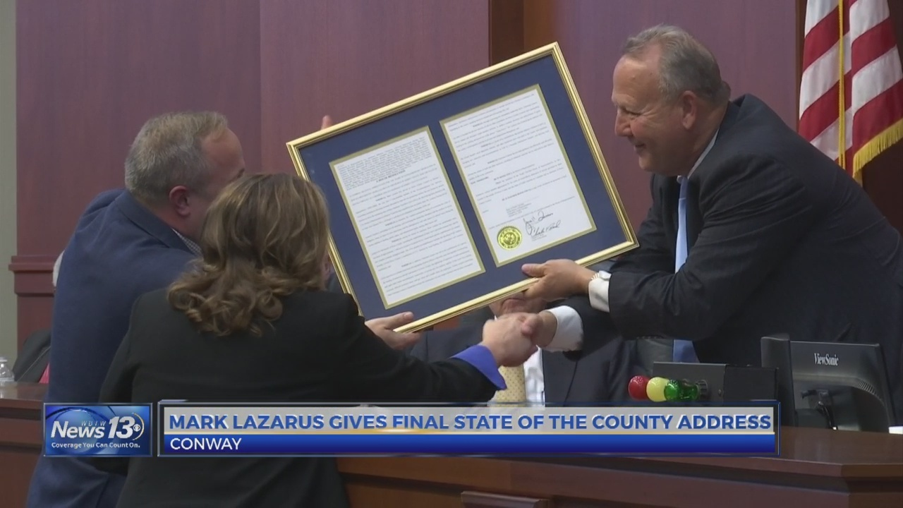 Lazarus leads final Horry County Council meeting as chair