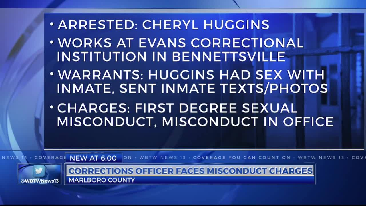 Marlboro County correctional officer arrested