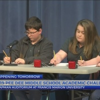 2019 Pee Dee Middle School Academic Challenge to be held at FMU