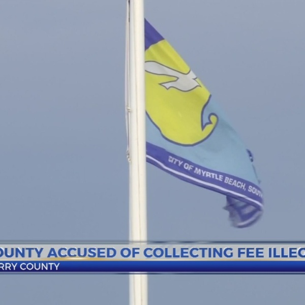 Horry County accused of collecting fee illegally