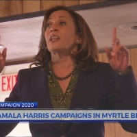 Kamala Harris campaigns in Myrtle Beach; RNC releases statement