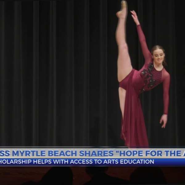 "Miss Myrtle Beach talks ""Hope for the Arts"""
