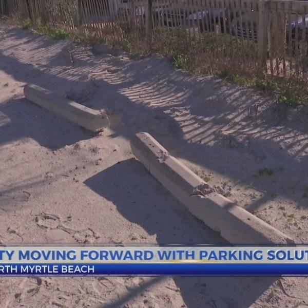 North Myrtle Beach parking plans