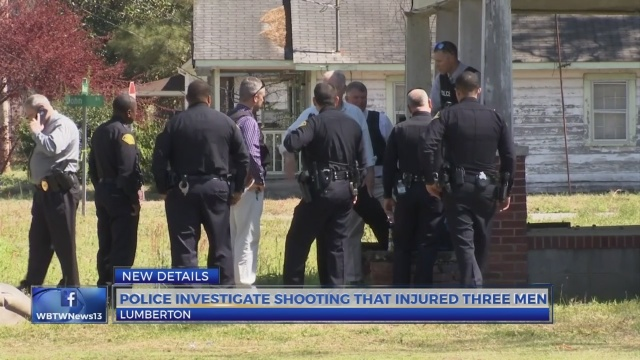 3 shot near Main Street in Lumberton identified