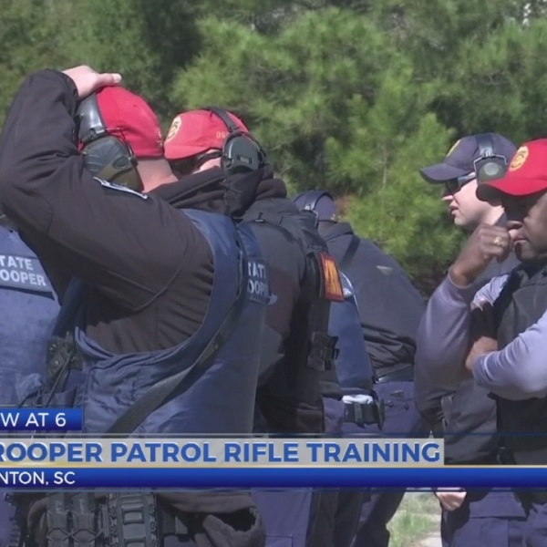 SCHP troopers attend rifle training
