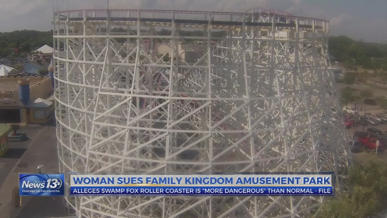 Woman sues Family Kingdom amusement park