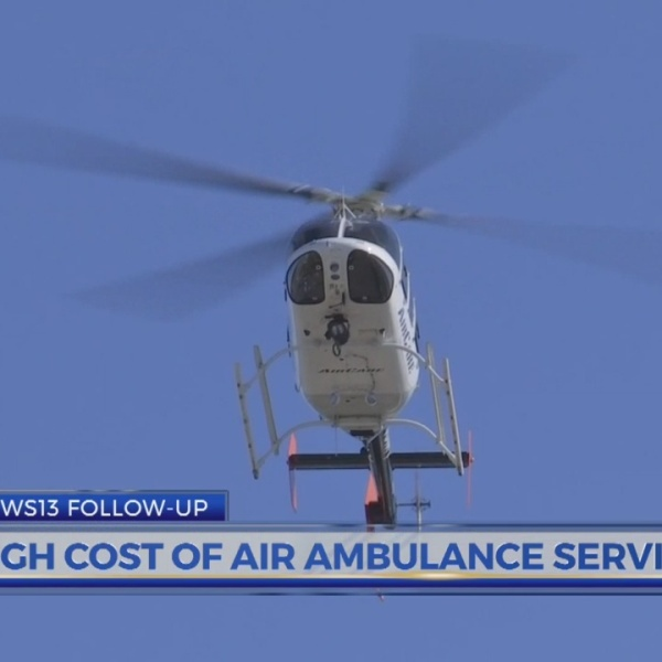 News13 follow-up: High cost of air ambulance services