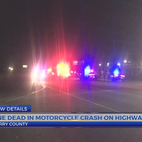 One dead in morotcycle crash on Highway 544