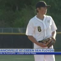 Branchville at Green Sea Floyds Baseball