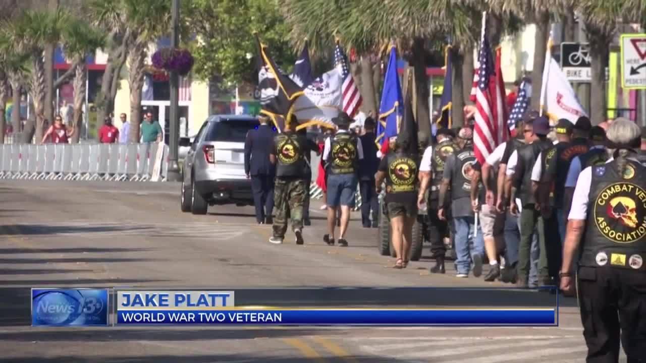 Myrtle Beach Memorial Day Veterans March