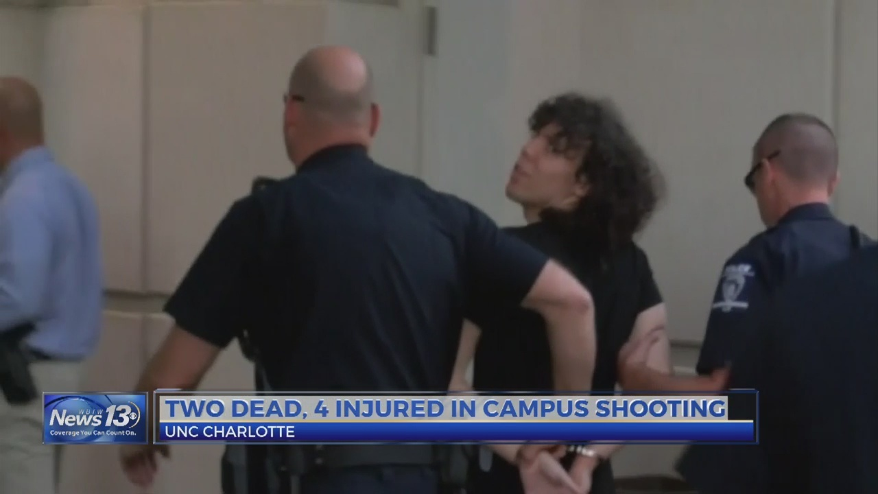 Two dead, four injured in UNC Charlotte shooting