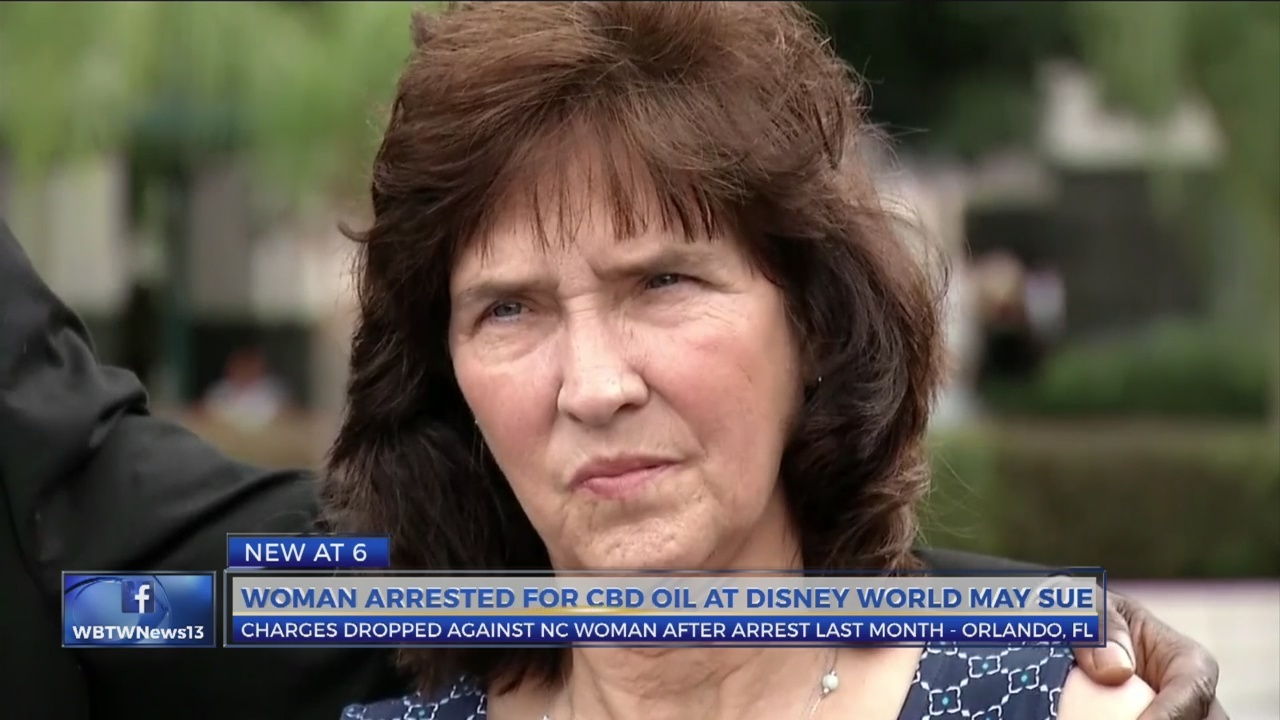 NC woman arrested for CBD oil at Disney demands apology