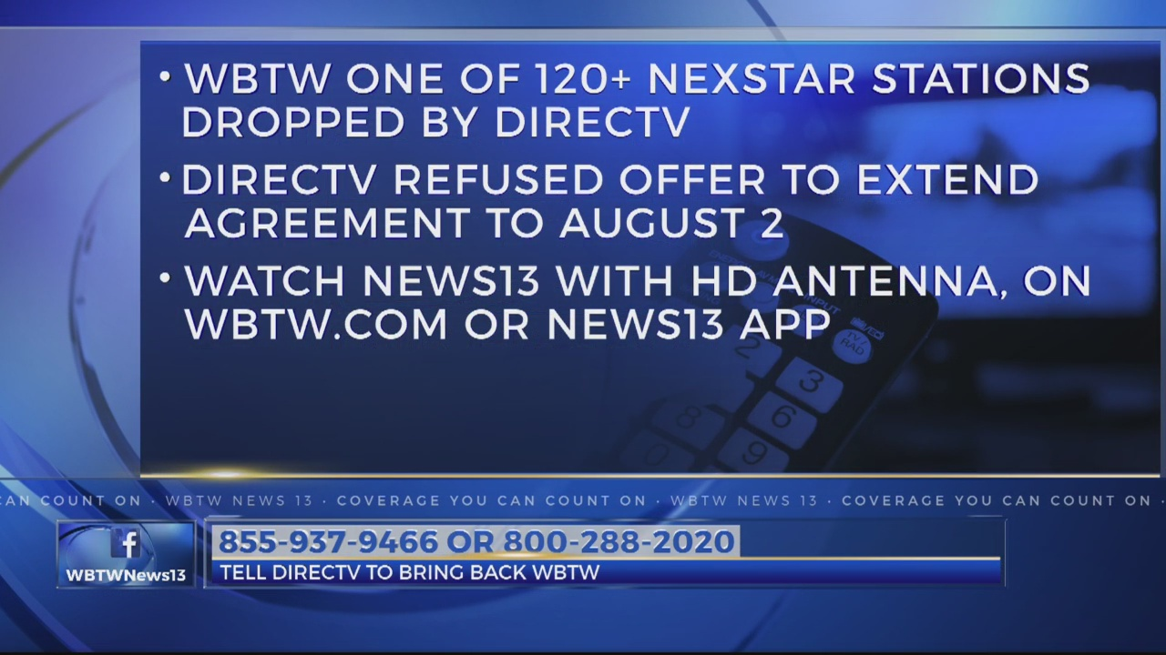 Help us get News13 back on DirecTV | WBTW