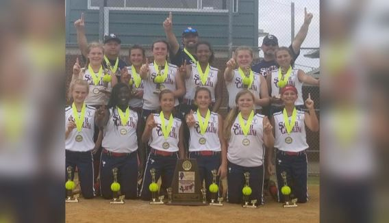 Latta Ponytails U12 team wins Dixie Youth World Series in