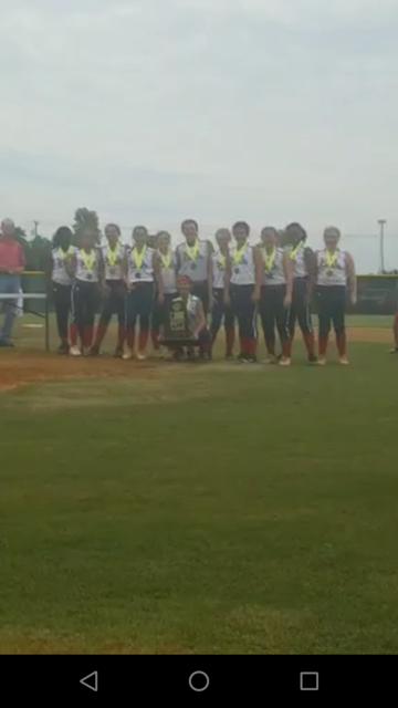 Latta Ponytails U12 team wins Dixie Youth World Series in