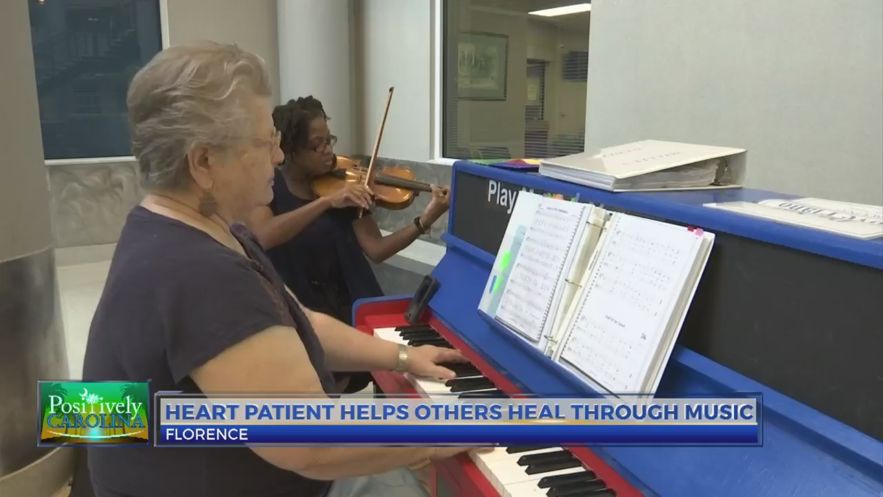 Heart patient plays piano for healing at MUSC Florence | WBTW