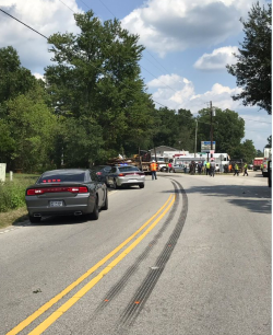 Fatal crash involving log truck shuts down part of East