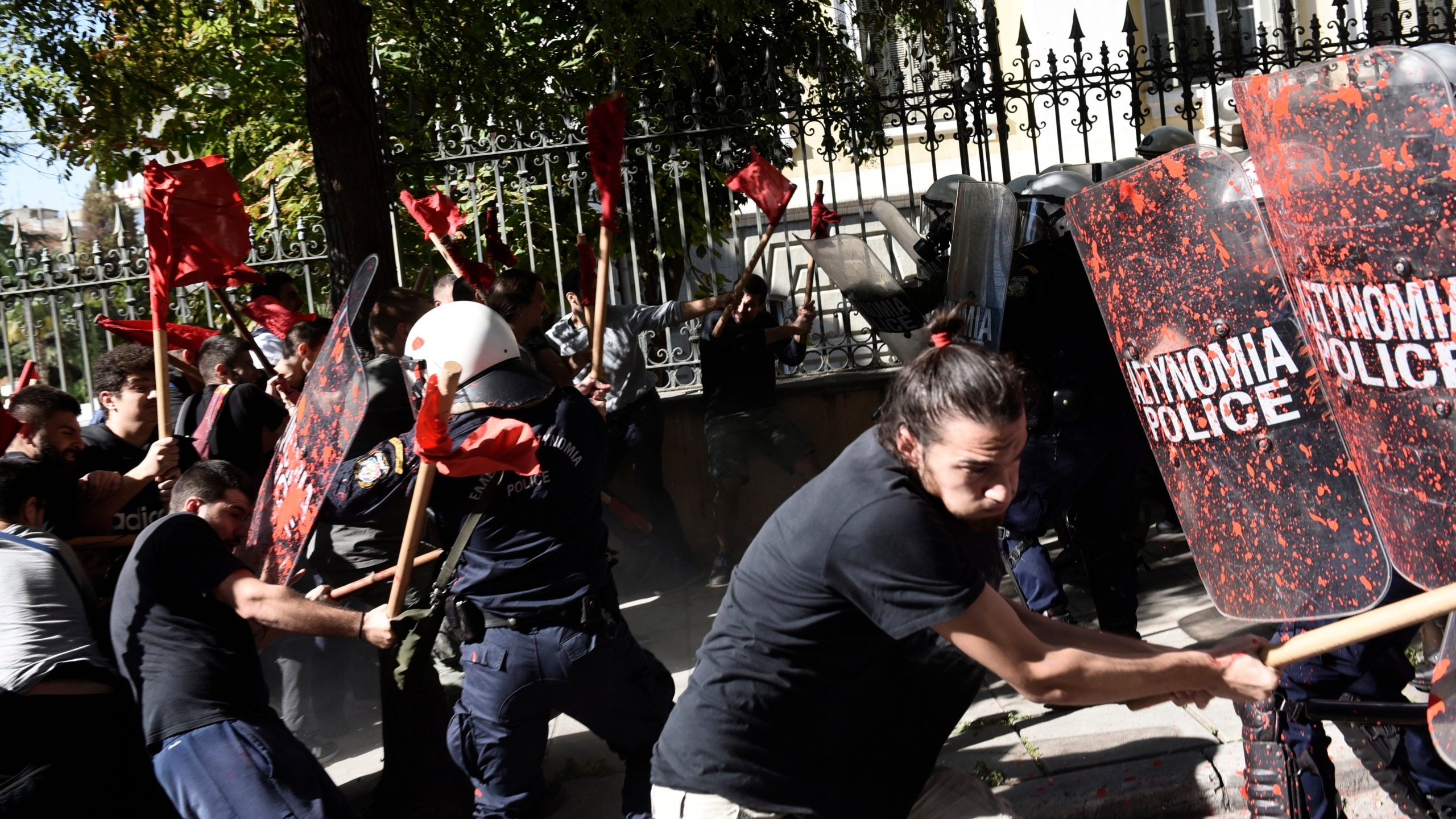 Greece Students Protest
