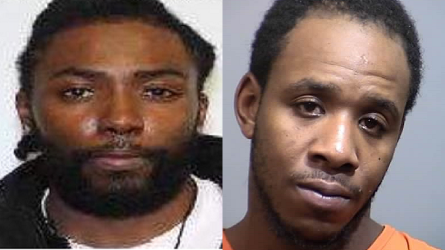 Dyshan Malik William Frasier, 26 (left) and Javon Jacob Hair, 27, of Pawleys Island (right). Photos: Georgetown Police Department.