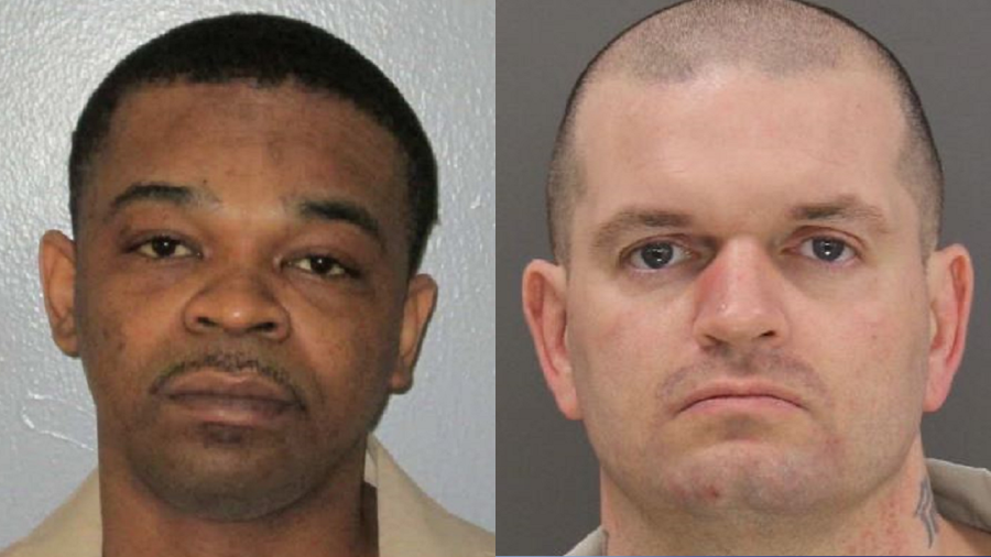 LEFT: Glenn Quanta Pernell in a booking photo from the SC Department of Corrections dated February 22, 2017. RIGHT: Joseph Russell Umphlett, Sr. in a booking photo from the SCDC dated October 14, 2015.
