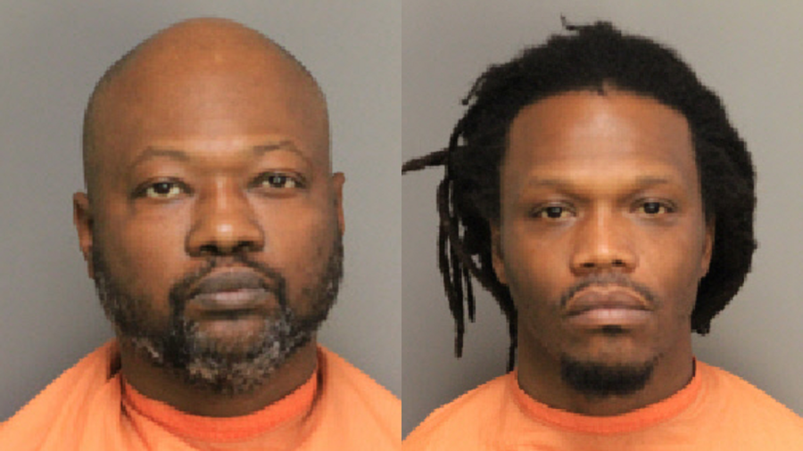 Terrence Devon Tisdale (left) and Maurice Lamont Ellis, Sr. (right). Photos: Florence County Detention Center.