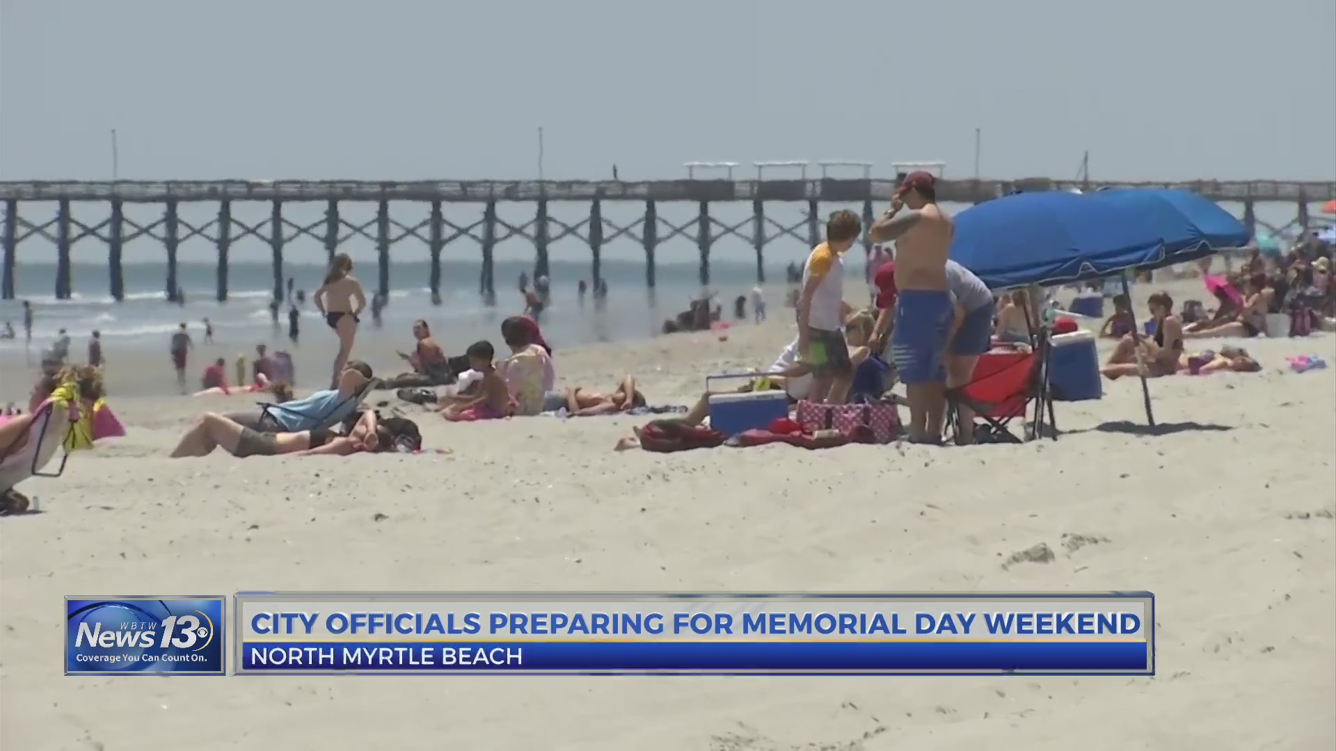 North Myrtle Beach Officials Brace For