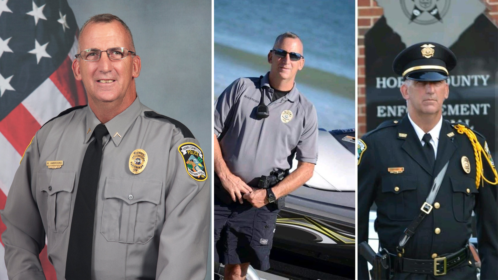 Fallen Horry County officer Michael Ambrosino added to National Police Memorial