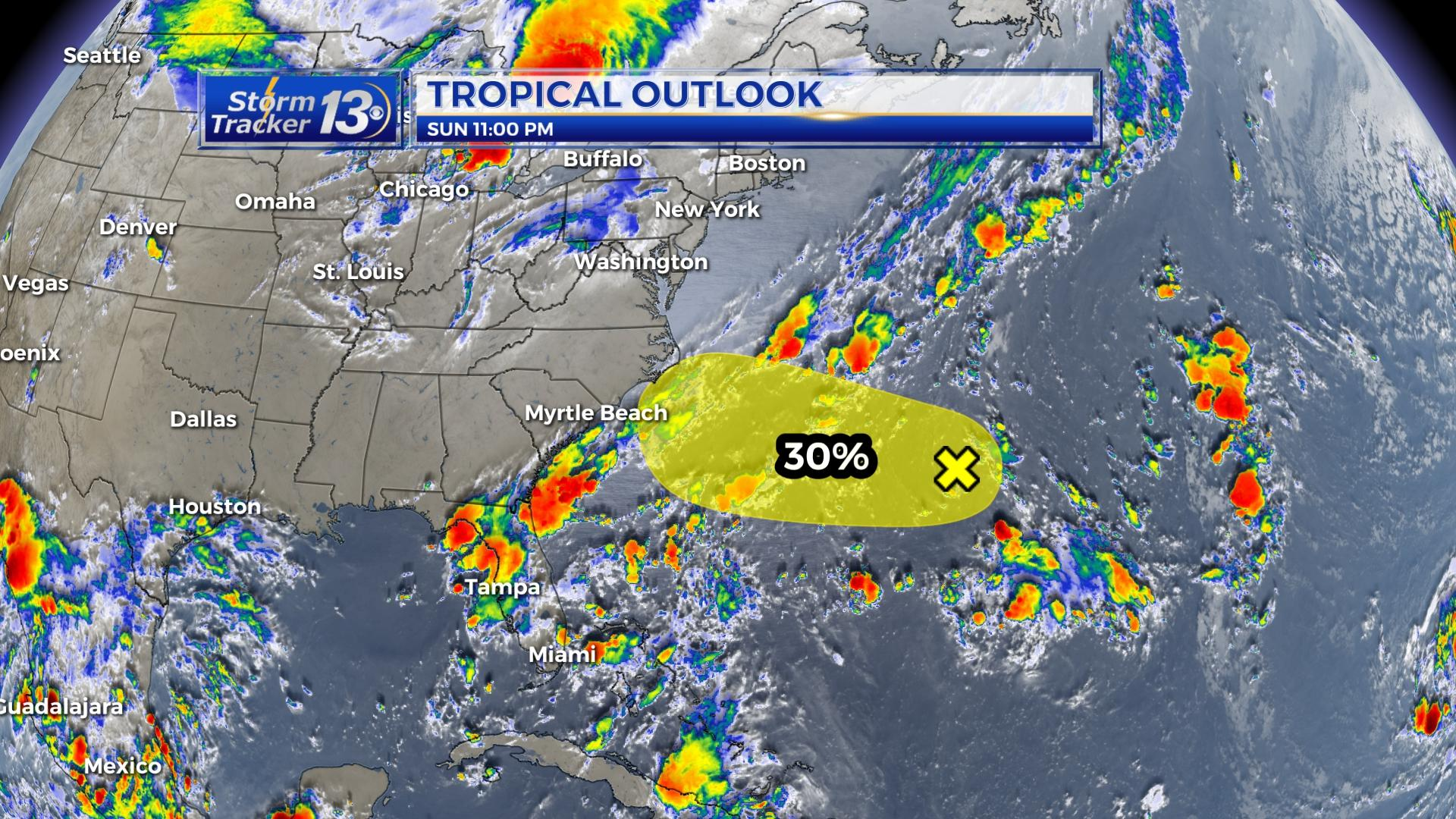 Tracking The Tropics Tropical Storm Paulette Forms Wbtw