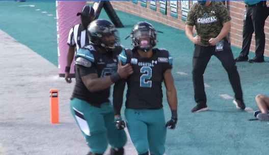 Coastal Carolina Jumps To In Top College Football Rankings WBTW