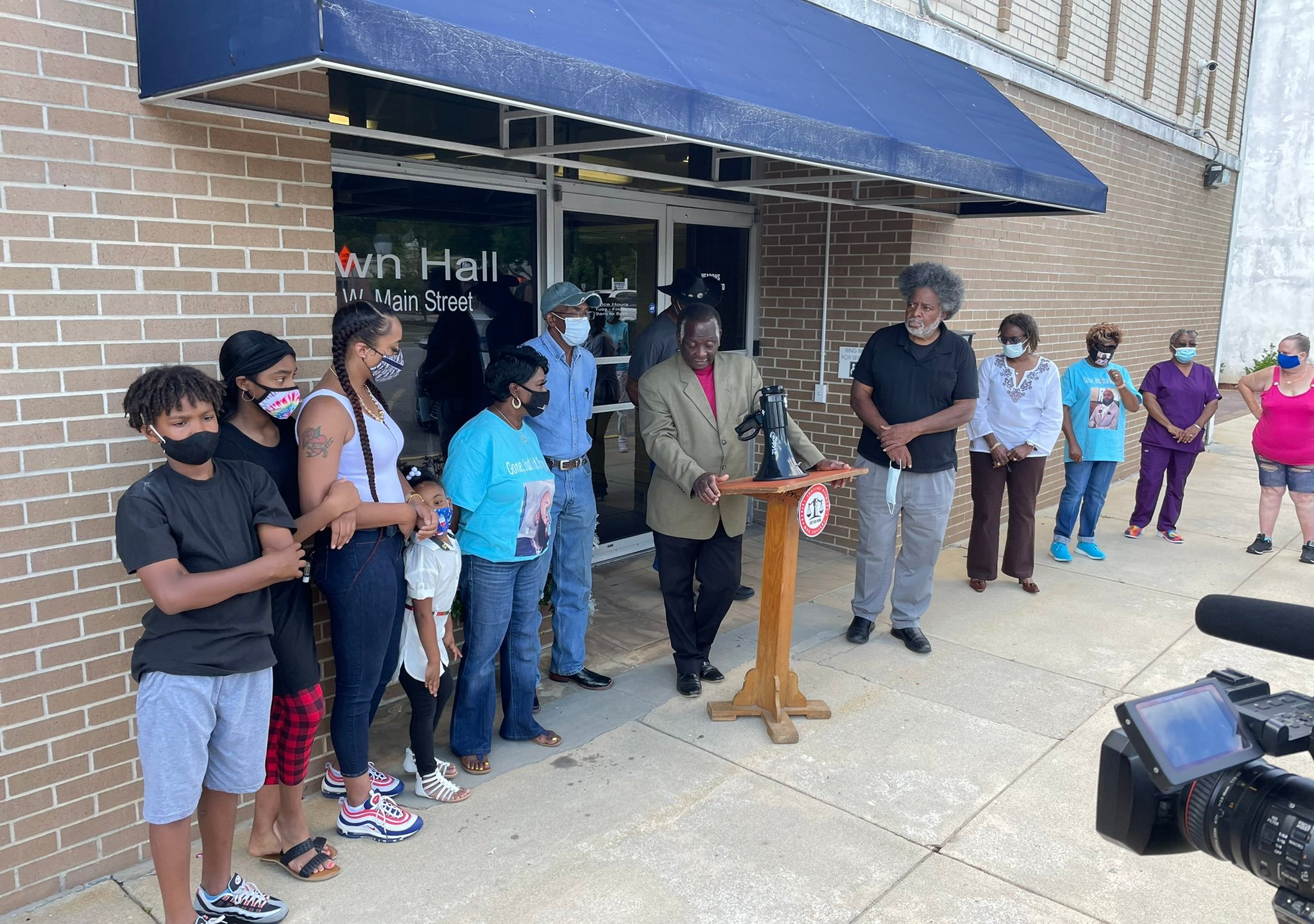Demonstrators march for answers in taser death of Timmonsville man