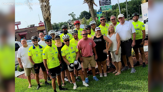 Bikers' 'exhilarating' ride from Nashville to Surfside Beach benefits cancer research