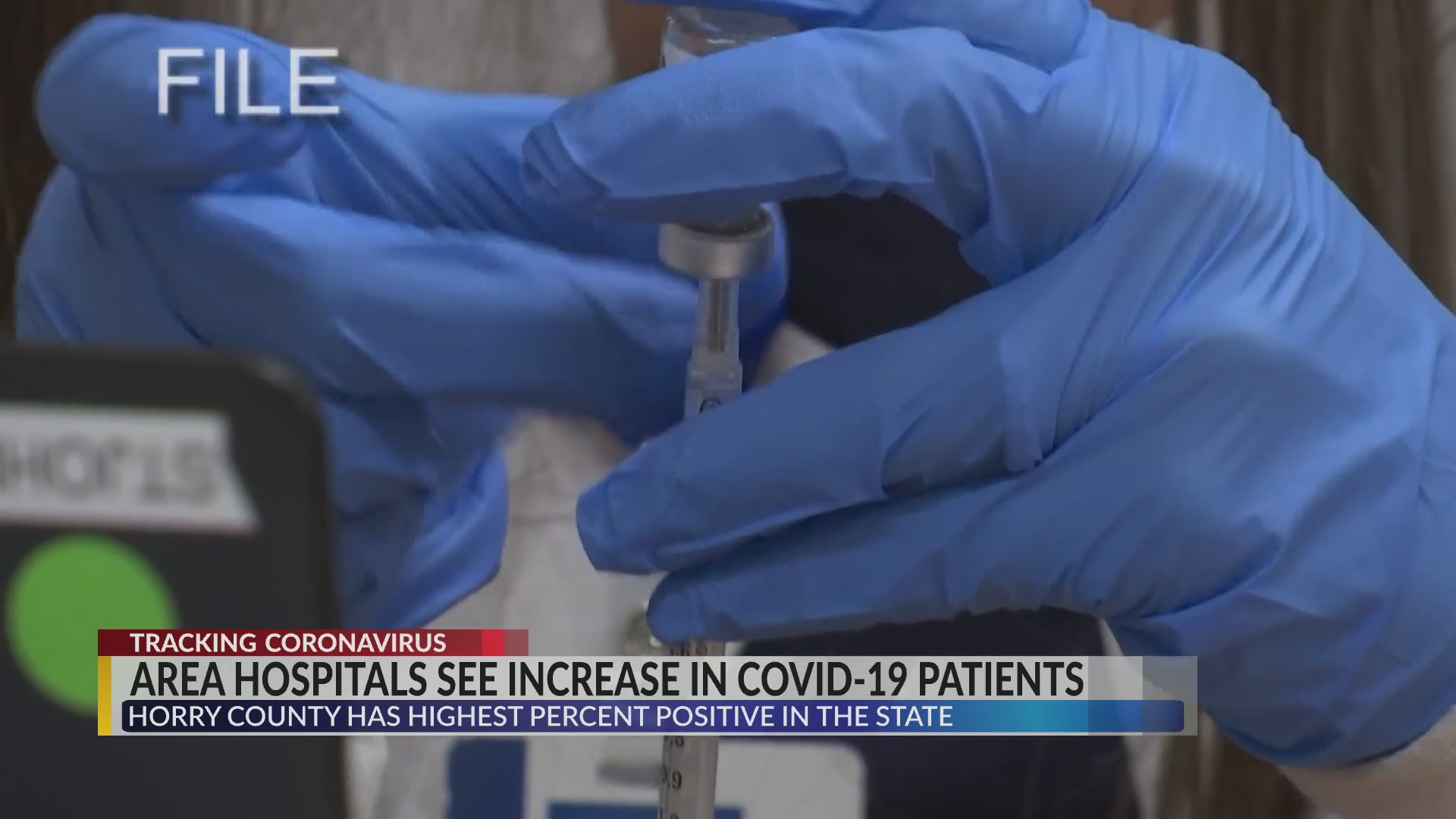 Horry County COVID-19 hospitalizations headed in wrong direction
