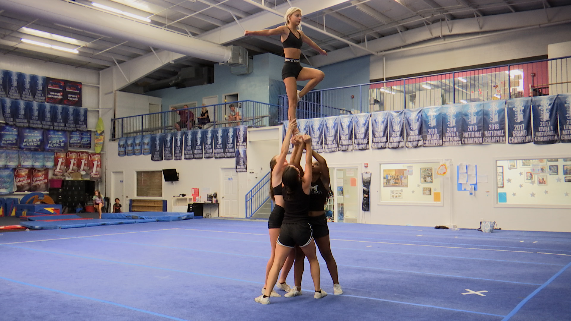 Little River gym reacts to cheerleading being added as an Olympic sport