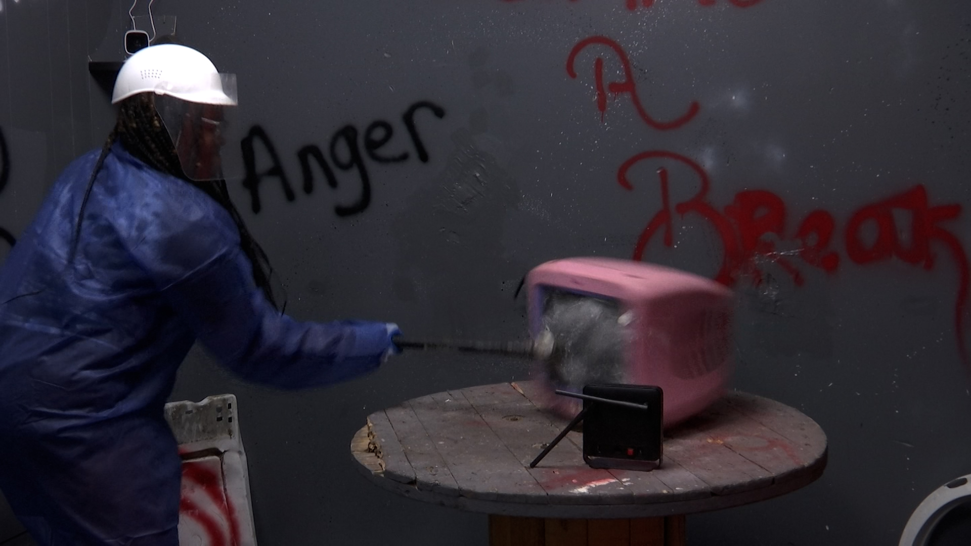 """""""Gimme a Break"""" brings rage rooms to Robeson County"""