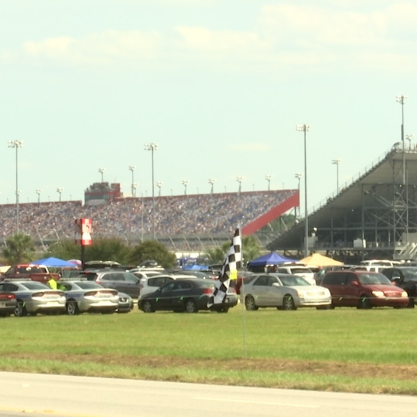 Racing fans share excitement ahead of the Cookout Southern 500
