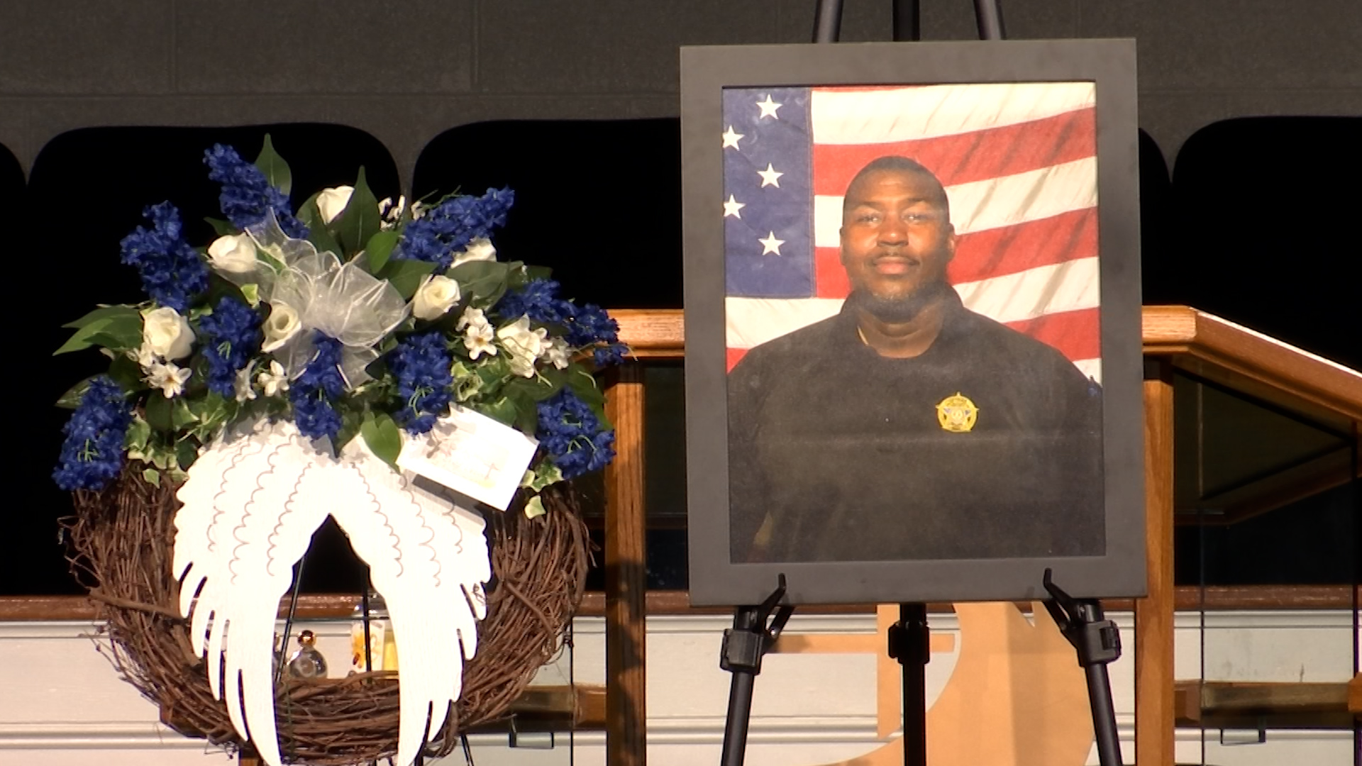 Fallen Lake City Police officer lies in state, remembered at prayer vigil